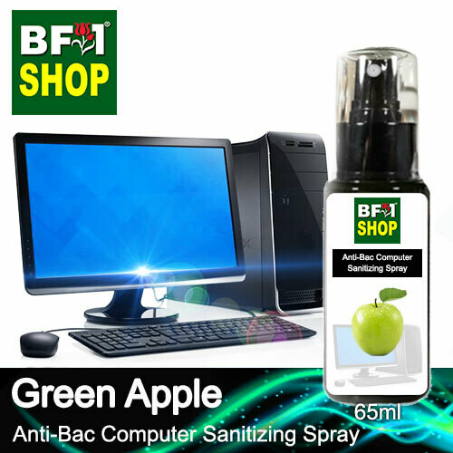 Anti-Bac Computer Sanitizing Spray (ABCS) - Apple - Green Apple - 65ml