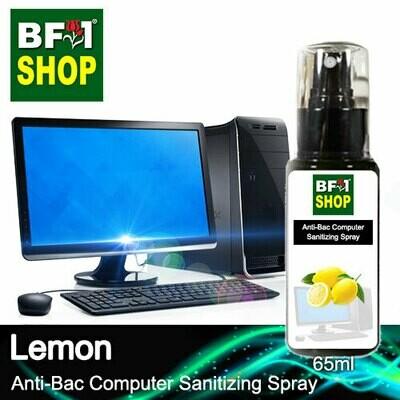 Anti-Bac Computer Sanitizing Spray (ABCS) - Lemon - 65ml