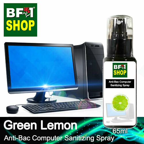 Anti-Bac Computer Sanitizing Spray (ABCS) - Lemon - Green Lemon - 65ml
