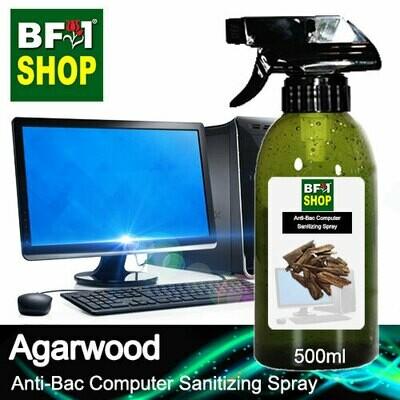 Anti-Bac Computer Sanitizing Spray (ABCS) - Agarwood - 500ml