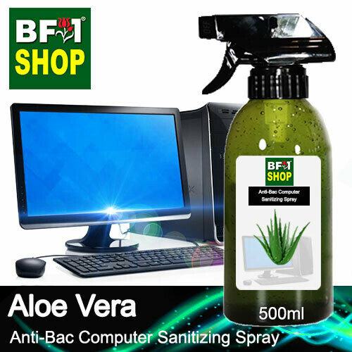 Anti-Bac Computer Sanitizing Spray (ABCS) - Aloe Vera - 500ml