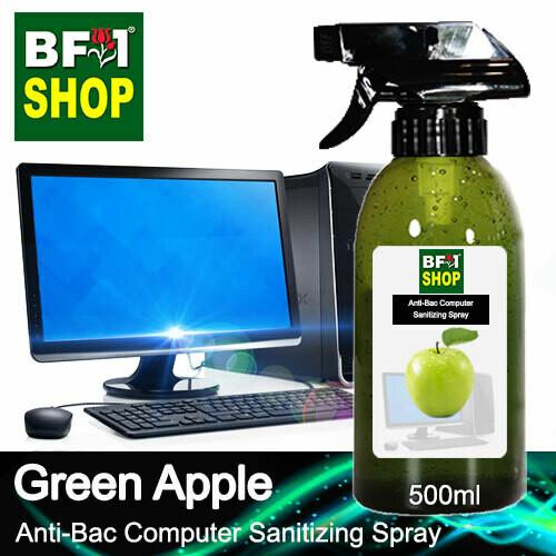 Anti-Bac Computer Sanitizing Spray (ABCS) - Apple - Green Apple - 500ml