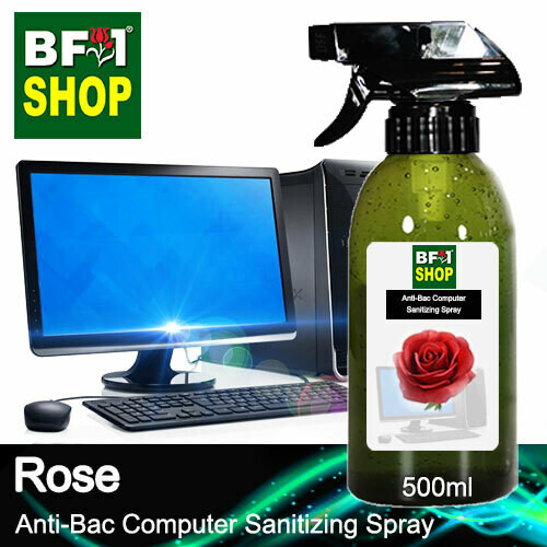 Anti-Bac Computer Sanitizing Spray (ABCS) - Rose - 500ml