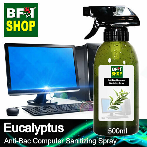 Anti-Bac Computer Sanitizing Spray (ABCS) - Eucalyptus - 500ml
