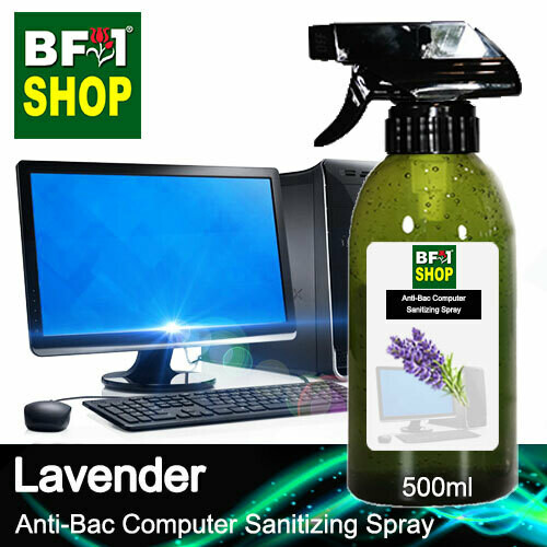 Anti-Bac Computer Sanitizing Spray (ABCS) - Lavender - 500ml