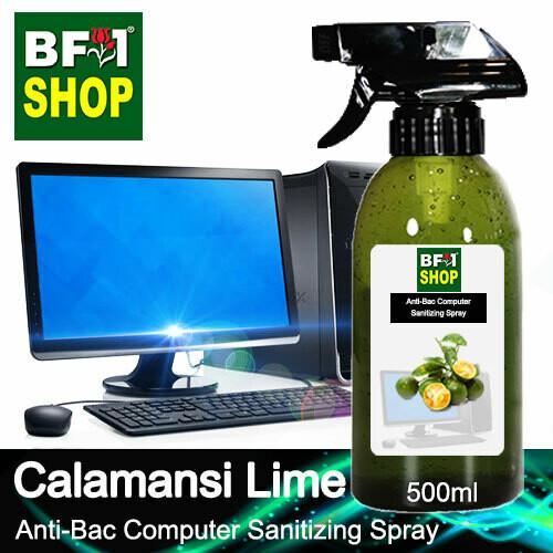 Anti-Bac Computer Sanitizing Spray (ABCS) - lime - Calamansi Lime - 500ml