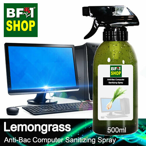 Anti-Bac Computer Sanitizing Spray (ABCS) - Lemongrass - 500ml
