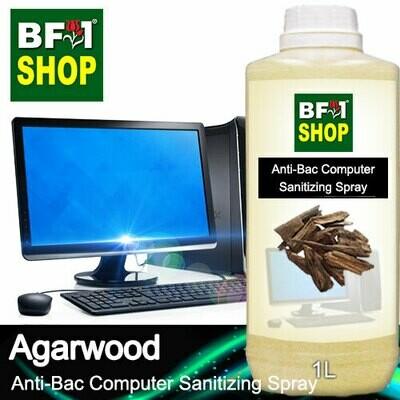 Anti-Bac Computer Sanitizing Spray (ABCS) - Agarwood - 1L
