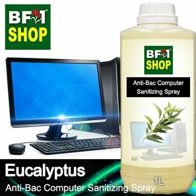 Anti-Bac Computer Sanitizing Spray (ABCS) - Eucalyptus - 1L