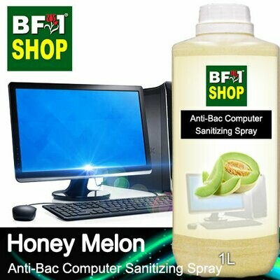 Anti-Bac Computer Sanitizing Spray (ABCS) - Honey Melon - 1L