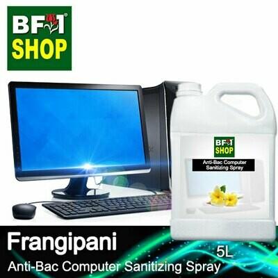 Anti-Bac Computer Sanitizing Spray (ABCS) - Frangipani - 5L
