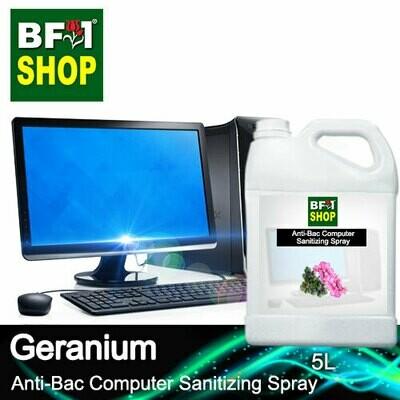 Anti-Bac Computer Sanitizing Spray (ABCS) - Geranium - 5L