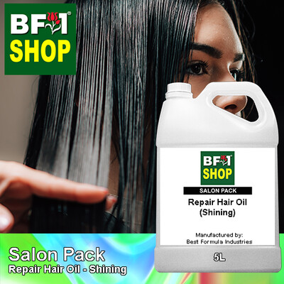 Salon Pack - Repair Hair Oil - Shining - 5L
