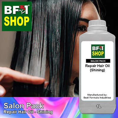 Salon Pack - Repair Hair Oil - Shining - 1L