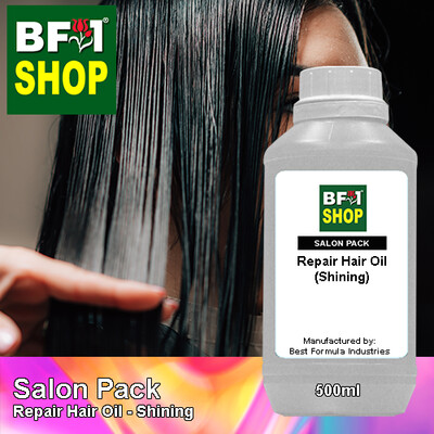 Salon Pack - Repair Hair Oil - Shining - 500ml