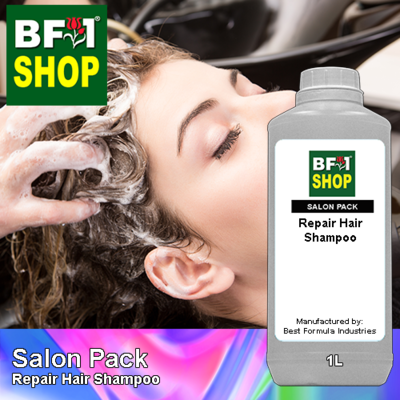 Salon Pack - Repair Hair Shampoo - 1L