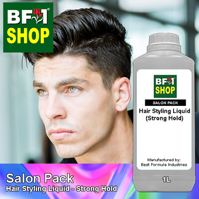 Salon Pack - Hair Styling Liquid - Strong Hold - 1L