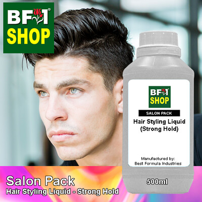 Salon Pack - Hair Styling Liquid - Strong Hold - 500ml
