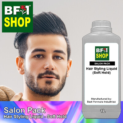 Salon Pack - Hair Styling Liquid - Soft Hold - 1L