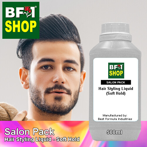 Salon Pack - Hair Styling Liquid - Soft Hold - 500ml
