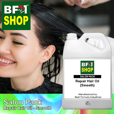 Salon Pack - Repair Hair Oil - Smooth - 5L