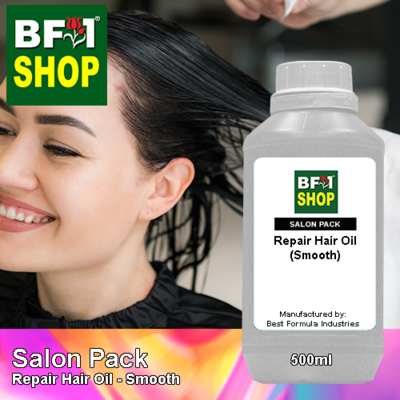 Salon Pack - Repair Hair Oil - Smooth - 500ml