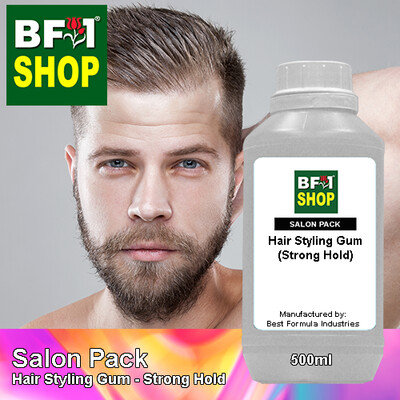 Salon Pack - Hair Styling Gum - Strong Hold - 500ml
