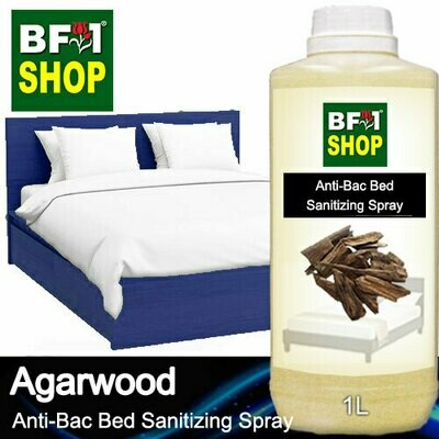 Anti-Bac Bed Sanitizing Spray (ABBS) - Agarwood - 1L