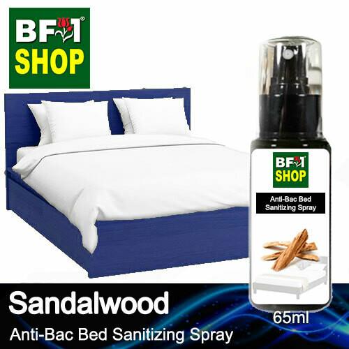 Anti-Bac Bed Sanitizing Spray (ABBS) - Sandalwood - 65ml