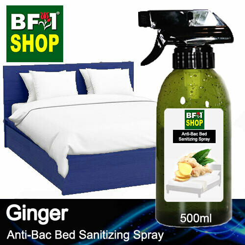 Anti-Bac Bed Sanitizing Spray (ABBS) - Ginger - 500ml