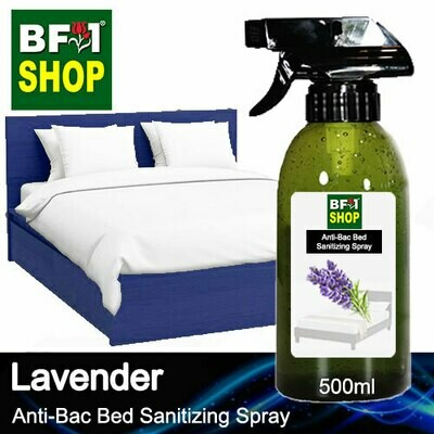Anti-Bac Bed Sanitizing Spray (ABBS) - Lavender - 500ml
