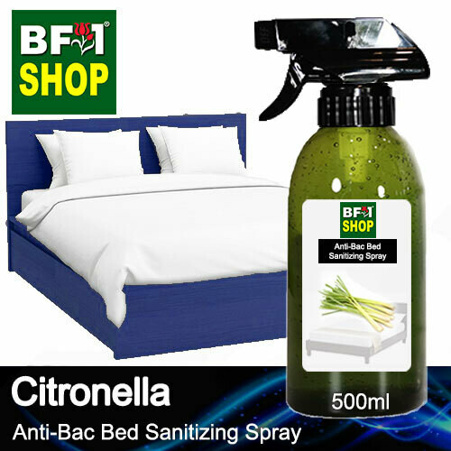 Anti-Bac Bed Sanitizing Spray (ABBS) - Citronella - 500ml