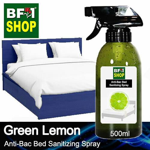 Anti-Bac Bed Sanitizing Spray (ABBS) - Lemon - Green Lemon - 500ml
