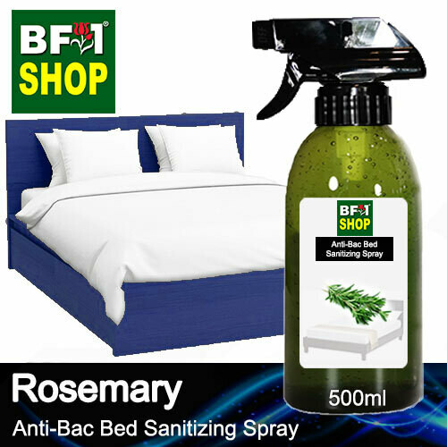 Anti-Bac Bed Sanitizing Spray (ABBS) - Rosemary - 500ml
