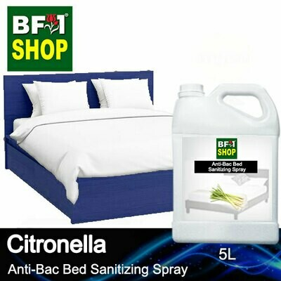 Anti-Bac Bed Sanitizing Spray (ABBS) - Citronella - 5L