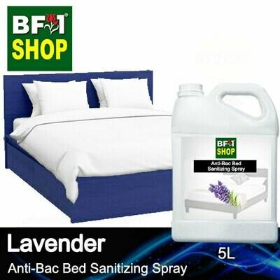 Anti-Bac Bed Sanitizing Spray (ABBS) - Lavender - 5L