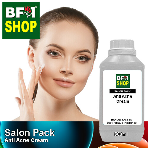 Salon Pack - Anti Acne Cream - 500ml