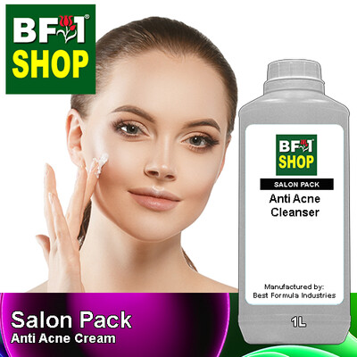 Salon Pack - Anti Acne Cream - 1L