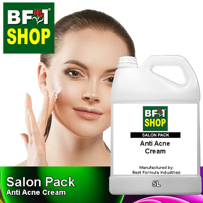 Salon Pack - Anti Acne Cream - 5L