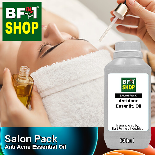 Salon Pack - Anti Acne Essential Oil - 500ml