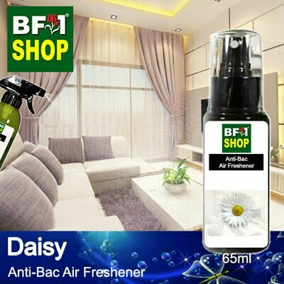 Anti-Bac Air Freshener - 75% Alcohol with Daisy - 65ml