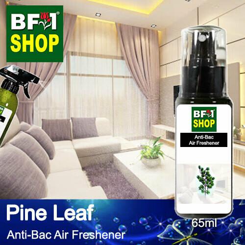 Anti-Bac Air Freshener - 75% Alcohol with Pine Leaf - 65ml