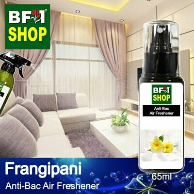 Anti-Bac Air Freshener - 75% Alcohol with Frangipani - 65ml