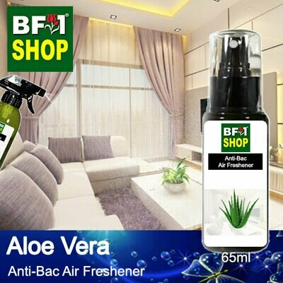 Anti-Bac Air Freshener - 75% Alcohol with Aloe Vera - 65ml