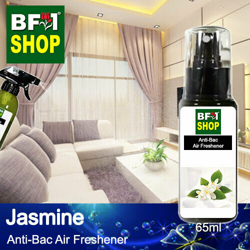 Anti-Bac Air Freshener - 75% Alcohol with Jasmine - 65ml
