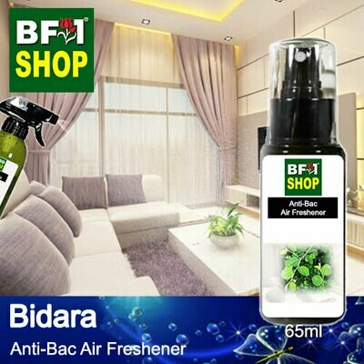 Anti-Bac Air Freshener - 75% Alcohol with Bidara - 65ml