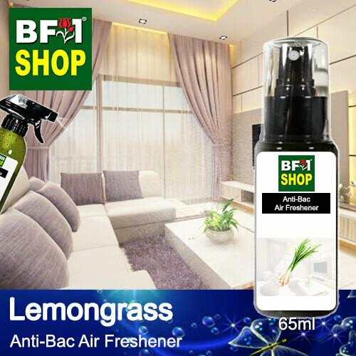 Anti-Bac Air Freshener - 75% Alcohol with Lemongrass - 65ml