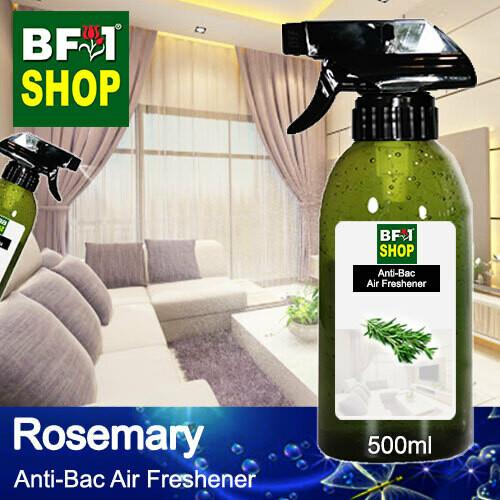 Anti-Bac Air Freshener - 75% Alcohol with Rosemary - 500ml