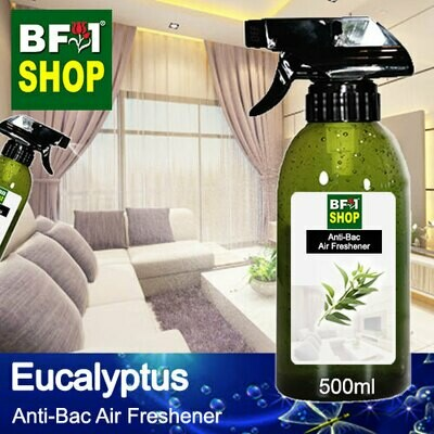 Anti-Bac Air Freshener - 75% Alcohol with Eucalyptus - 500ml