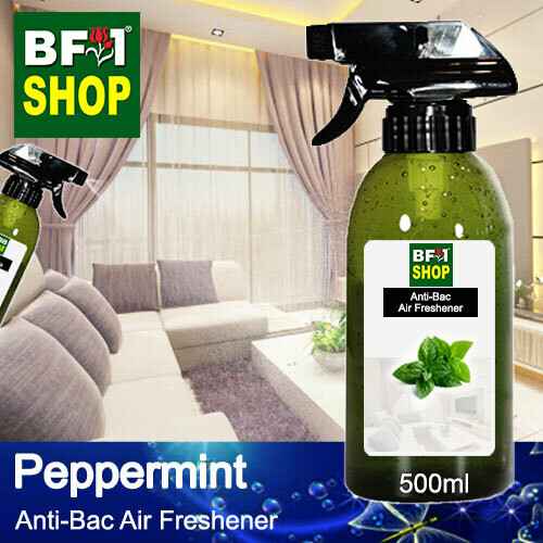 Anti-Bac Air Freshener - 75% Alcohol with mint - Peppermint - 500ml